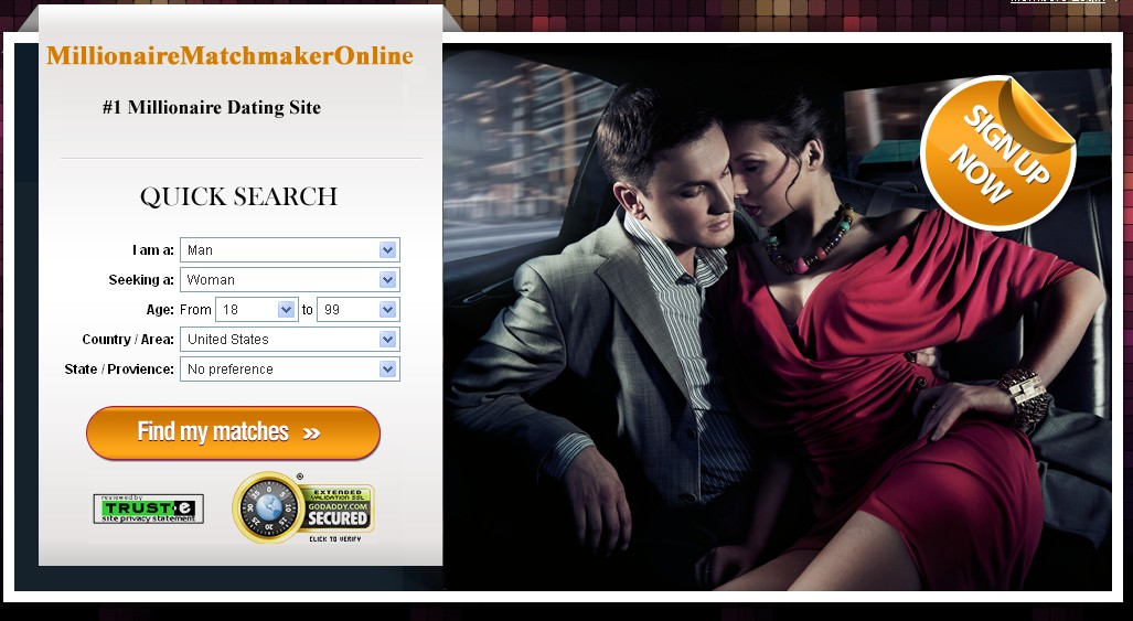 Millionaires dating sites worldwide