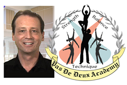 Sean Cronin and Academy Logo