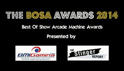 The BOSA Awards - Best Of Show Arcade Machine Awards 2014