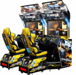Overtake Arcade Video Racing Arcade Game From Wahlap