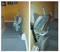 Stair Lift Installed by 101 Mobility West Palm Beach