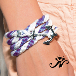 Cheer on your team or alma mater during March Madness with an Alumni Crew bracelet.