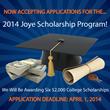 Joye Law Firm Announces 2014 College Scholarship Program