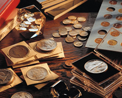 KMG Gold buys and sells coins, numismatics and paper money