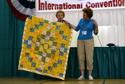 The FMCA On-Road Quilters will donate children's quilts to a local organization.
