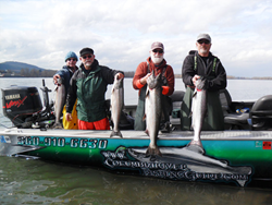Columbia River Fishing Guides, Columbia River Salmon Fishing Guides, Christian Witt, Woodland Wa