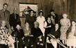 Rita M. Welch (top row; third from left) poses with residents and staff at John Scott House circa 1961.