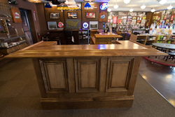 KegWorks-built custom home bar