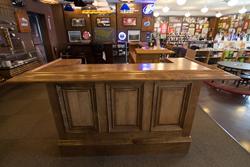 KegWorks-built custom home bar