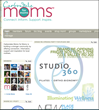 Example of a Moms for Moms homepage.