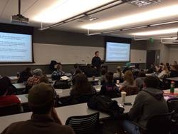 Back2Basics graduates share their stories this week at Northern Arizona University.
