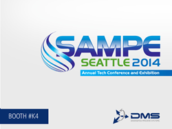 SAMPE Tech Seattle 2014 DMS CNC Routers in Booth #K4