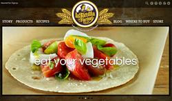 La Tortilla Factory's New Home Page