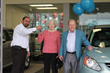 Getting keys to their all-new Ford C-MAX Hybrid