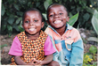 Two happy children living at Light in Africa