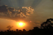 A beautiful sunset at Light in Africa, a children's home that provides fundamental care for vulnerable children in the Kilimanjaro and Manyara region of Tanzania