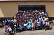 Group photo with the children and staff at Light in Africa; providing basic fundamental care for vulnerable children in the Kilimanjaro and Manyara regions