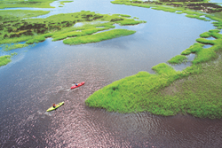 Kayaking in North Carolina's Brunswick Islands
