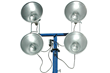 4000 Watt Extendable Light Mast with 360° Rotating Capabilities
