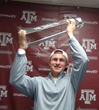 Johnny Manziel - 2012 CFPA National Freshman Performer of the Year Trophy