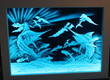 LED Illuminated Art Glass by Peter Edward Jurgens