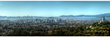 """Oakland Skyline"" panoramic photo taken by Fine art Photographer Diallo Mwathi Jeffery