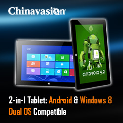 Dual OS Android tablet