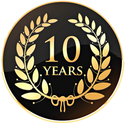 10 yrs online