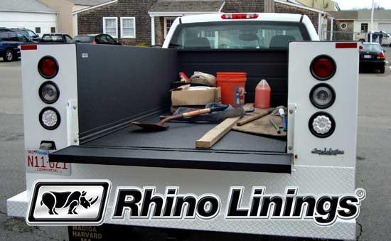rhino lining machine