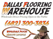 Dallas Flooring Warehouse Announces Wholesale Direct Wood Laminate...