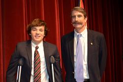 University School's Sherman Prize Speaking Contest