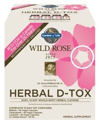 Garden of Life Wild Rose DTox is a 12 day cleanse