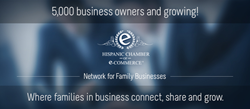 5,000 Business owners and professionals are now part of the Hispanic Chamber of E-Commerce business network.