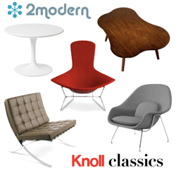 2Modern's Knoll Polyvore Design Challenge & Knoll Classics Sale