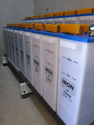 Iron Edison Nickel Iron Battery