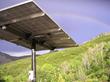 Rainbow over Solar Pole Mount
