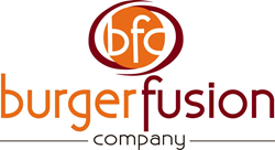 blu group, burger fusion, la crosse, wisconsin, advertising, web design