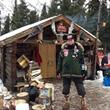 Dr. Stroberg at the Rohn Alaska Checkpoint.