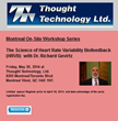 HRV, heart rate variability, biofeedback, Thought Technology, Dr. Richard Gevirtz