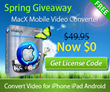 40K Copies of Beefed-up MacX Mobile Video Converter Join in 2014...