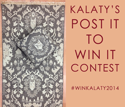 kalaty, interior design, social media contest, area rug