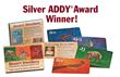 Silver Addy Award 2014 Desert Dwellers Flash Cards by Julie Originals