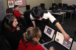 Students Learn to program Video Games