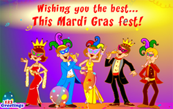 Mardi Gras Cards, Free Mardi Gras eCards, Greeting Cards | 123 Greetings