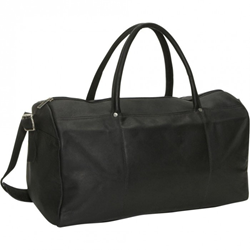 "David King Leather 19"" Duffel Bag, travel carry on"