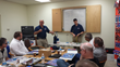 UGA Managing director David Foster and Sales Executive Matt Foster demonstrating Uniweld's HVAC/R Line.