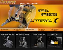 Octane Fitness' new website