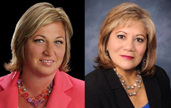 Stephanie Boatman and Cecilia Sosa have joined the San Antonio North American Title office.
