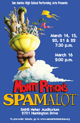 San Marino High School presents SPAMALOT!