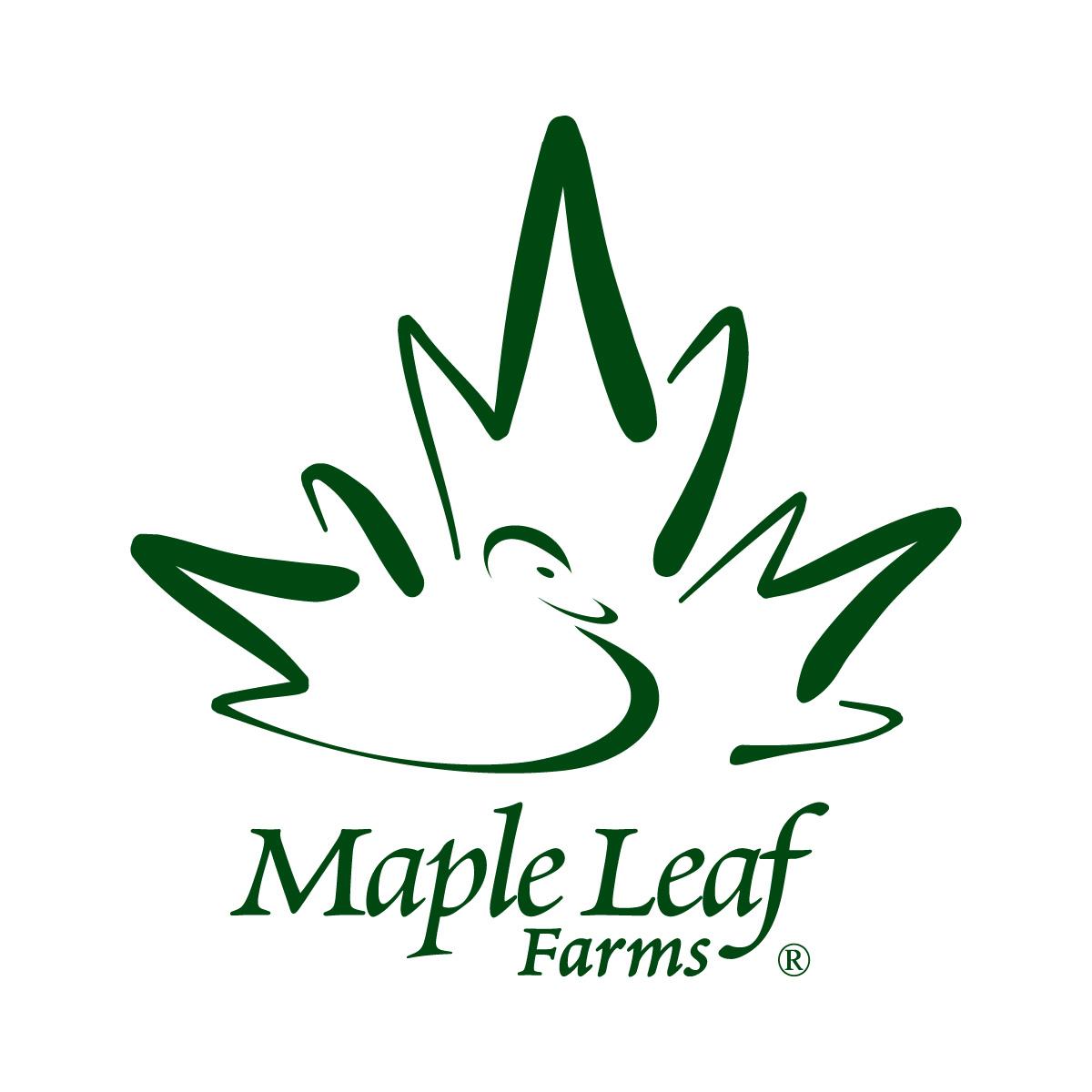 Maple Leaf Farms Logo Maple Leaf Farms Earns Global
